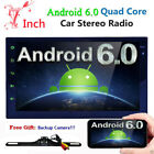 "Quad-Core 7"" Android 6.0 Car Stereo Car DVD Plyaer GPS Radio iPOD BTAV-IN RDS"