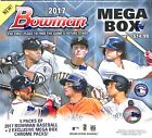 2017 Bowman Baseball Mega Box Sealed 5+2 packs per box