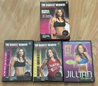 Jillian Michaels Workout DVD Lot Banish Fat Maximize Complete 3 DVDs Exercise