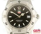 Tag Heuer Professional 2000 Quartz 38mm Black Dial Stainless Steel Men's Watch