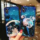 Luxury Mirror Glossy Slim Cute Pattern Soft Rubber Case Cover For iPhone X 8 7 6