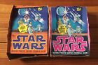 2-VTG 1977 TOPPS STAR WARS 5th & 3rd SERIES WRAPPERS LESS CARDS WAX ORIG BOXES