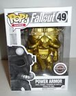 Funko Pop! Games - Fallout Power Armor, Gamestop Exclusive gold variant