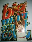 1996 97 SKYBOX Z FORCE BIG MAN ON THE COURT ALONZO MOURNING DIE CUT CARD #6