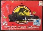 1992 Topps Jurassic Park Movie Cards Factory Sealed Box with Stickers-Holograms