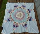 VINTAGE HAND PIECED LONE STAR / STAR of BETHLEHEM QUILT TOP 52
