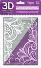 Crafters Companion 3D 5x7 Embossing Folder Ornate Lace