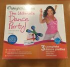 WEIGHT WATCHERS The Ultimate Dance Party Firming SticksDVD EXERCISE Brand New