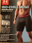 "NEW Under Armour Mens ISO-CHILL Mesh 9"" Boxerjock Boxer Brief, Gray Small"