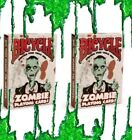 2 BICYCLE ZOMBIE PLAYING CARDS DECK FUNNY ZOMBIES APOCALYPSE FUNNY