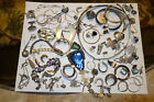STERLING SILVER JEWELRY LOT / WEARABLE AND SCRAP /  285 GRAMS