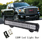 20 120W Led Work Light Bar Spot Flood Offroad FOR Jeep Truck ATV SUV GMC 22