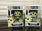 Funko Pop! Rick and Morty 2018 ECCC Exclusive #337 Alien Rick + #338 Alien Morty
