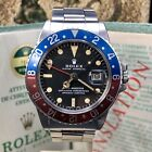Vintage Rolex GMT Master 1675 Mk2 Dial Full Set Punch Papers Box 1973