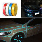 1 Roll Car Bright Reflective Sticker Motorcycle Car Luminous Tape Strip Decal