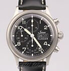 Sinn 358 Pilot Black Dial Boxes Papers