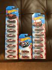 Hot Wheels 2018 Target Exclusive Red Edition lot of 16 cars Volkswagen Mustang