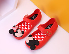 2018 Mini Melissa Girl's PVC Mickey Mouse Summer Sandals Kid's Jelly Party Sheos
