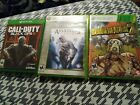 Lot of 3 Xbox One and Xbox 360 Games - Including Assassin's Creed, COD Black Ops