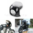 Retro Cafe Racer 7'' Headlight Fairing & WindScreen For Honda CB 175 200 250 350