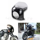 Retro 7'' Headlight Fairing & WindScreen For Honda CB 175 200 250 350 Cafe Racer