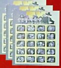 Five x 20  100 LOVE HEARTS BLOSSOM US PS 2019 Forever Postage Stamps Sc  5339