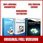 EaseUS Complete Bundle Data Recovery Wizard + Partition Master + Disk Copy