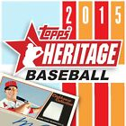2015 Topps Heritage Complete Base set Cards 1 425