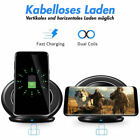 Induktive Ladestation Ladegerät Dockingstation Kabellos Wireless Charger Typ C