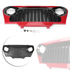 for Jeep Wrangler TJ 1997 2006 Front Red Matte Gladiator Grill Grille W Mesh New