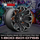 Fuel Assault D546 Wheels 20x12 Black Milled Jeep Wrangler set of 4