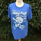 Funko Pop! Tees T Shirt Blue Ghostbusters Stay Puft Man Ghost