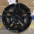 22 G63 AMG STYLE BLACK WHEELS RIMS FITS MERCEDES BENZ G WAGON G500 G550 G55