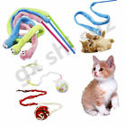 Funny Kitten Pet Cat kitten Teaser Sound Interactive Toy Wire Chaser Wand