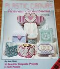 Victorian Enchantments  Plastic Canvas Pattern Leaflet Tissue Cover Holder Box