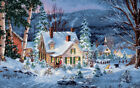 Dimensions Gold Collection Winters Hush Counted Cross Stitch Kit 20X14 16 Cou