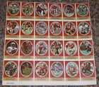 1972 Sunoco Football Stamp Sheet San Francisco 49ers 24dif New Player Update