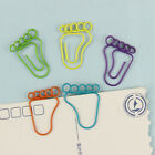 24 PCS Foot Shape Paper Clips Creative Shaped Clips For Office School Home O5X1