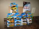 Hot Wheels Lot of 10 MOONEYES Variation 8 Crate VW 41 Willys Lakester Chevelle