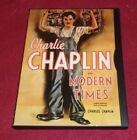 Modern Times RARE Image edition DVD Charlie Chaplin Paulette Goddard