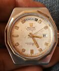 Vintage Japan Made Ricoh All Original 37mm Working Automatic Men Watch