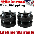 4X 15 Wheel Spacers 5x5 for Jeep Wrangler JK Rubicon Hub Centric 5 Lug Black