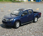 1 18 ISUZU Original manufacturer blue D MAX pickup truck alloy model