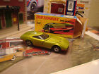 MATCHBOX SUPERFAST 1970 DODGE CHARGER MK  CLEAR WINDOWS RED BASE