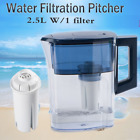 Filtration System Water Jug Pitcher Drinking Purifier W 1 Replaced Filter 25L