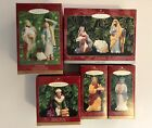 Hallmark Keepsake Ornaments Blessed Nativity Collection Complete Set Shepherds