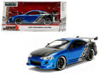 1995 Mitsubishi Eclipse Bride Themed Blue 124 Diecast Model 99103