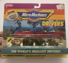 MICRO MACHINES GALOOB Worlds Smallest Drivers Military Personnel 4 NIP M