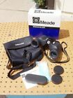 MEADE TRAVEL VIEW FULL SIZE 7x35 PORRO PRISM BINOCULARS VERY NICE CONDITION