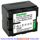 Kastar Battery LED Super Fast Charger for Panasonic VW VBN130 HC X800 HC X800GK